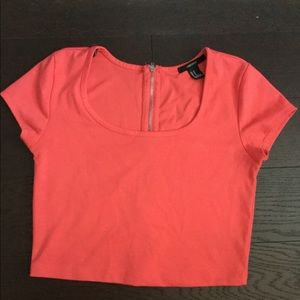 Bright colored crop Top